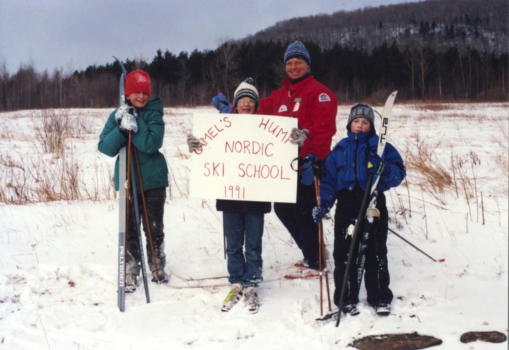 ski-school-standing